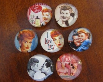I Love Lucy Magnets