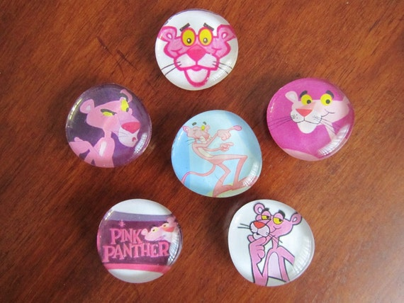 RESERVED Pink Panther Magnets for Pia
