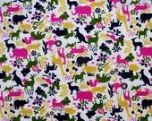 Animal silhouette fabric