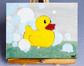 Just Ducky - 9 x 12 Painting