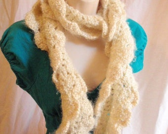 Kudo Scarf in Cream