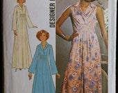 Vintage 70s Womens Dress Pattern Simplicity 7822