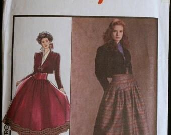 Sewing Pattern Misses Skirt and Bolero Jacket Pattern Style 1616 Sz 14