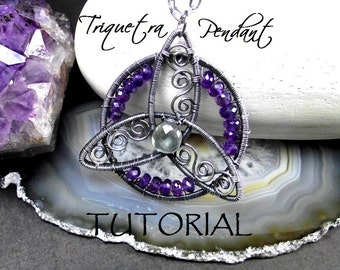 Tutorial, Triquetra Pendant - Step by step.