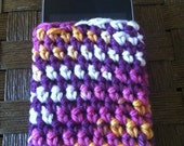 Hand Crocheted Cell Phone/ iPod Case in Fun Colors
