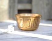 RESERVED   Brass Bowl
