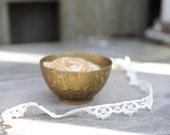Tiny Brass Bowl, India