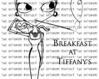 INSTANT DOWNLOAD Breakfast at Tiffany's Audrey