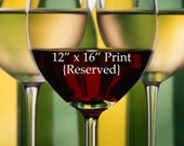 Wine Stems 12x16 Reserved