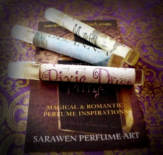 100% Donation for NOWZAD Animal Shelter - Victorian Steampunk Perfume Set
