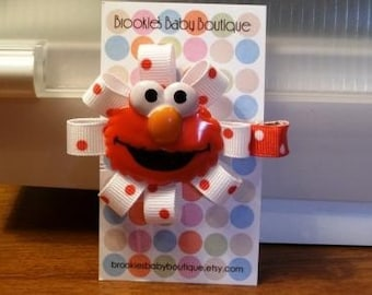 ELMO Hair Clip - Free Shipping