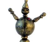 Reginald Q. - collapsible steampunk ornament
