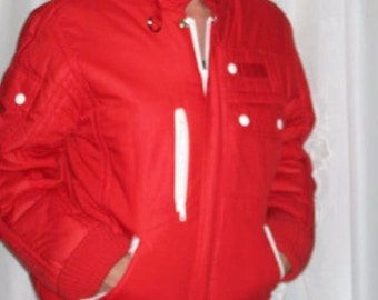 Womens ViNTaGe Jacket /Car Coat NEW Fall/Winter Womens Bomber Style Jacket Deadstock by 'Creations America'