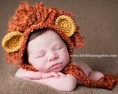 LION MANE Crochet Hat Photo Prop Baby Newborn 0 3 6 12 Months 1T 2T 3T 4T Child Teen Adult
