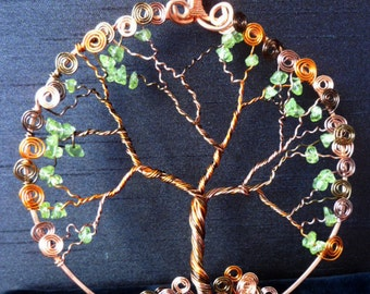Budding Out Tree of Life Ornament