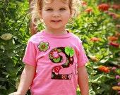 Girl Birthday Shirt - 1st Birthday, 2nd Birthday, 3rd Birthday and on