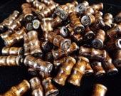 Dark Brown Wood Beads Qty 20
