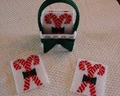 Chirstmas Holiday Handmade Coaster sets