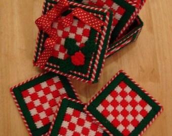 Christmas Holiday Coasters