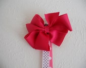 Hot pink Hello Kitty Bow holder