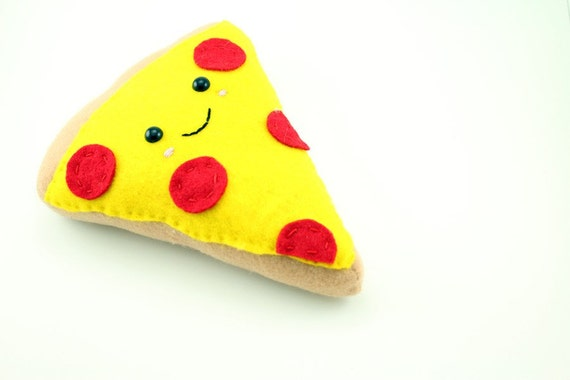 Vector Logo of a Happy and Smiling Pizza Mascot Cartoon Character ...