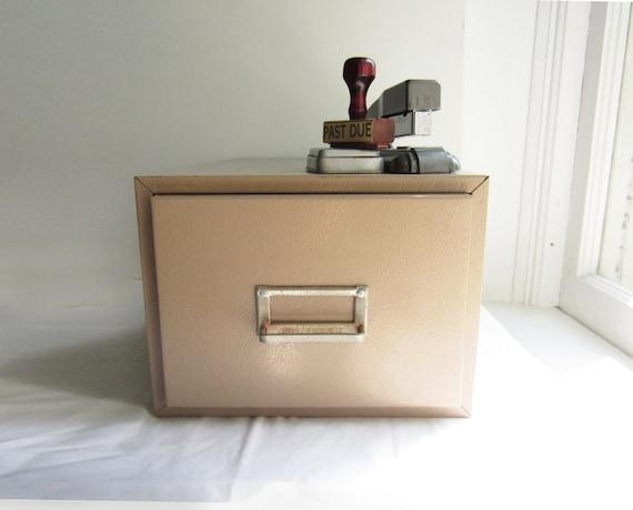 RESERVED for Emma Liz Until 11/2- Vintage Buddy Products File Drawer Card Catalog