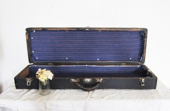 Vintage Wood Violin Bow Case - Henry C. Cochran