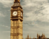 London photo - Big Ben - London England Fine Art Photo 8X12