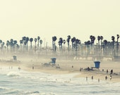 Summer Day at the Beach - 16x24 Photo of Huntington Beach California