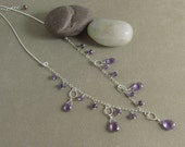Spiritual Protection and Stress Relief Necklace with Amethyst