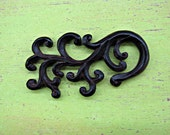 The Branch 63mm Carved Wood Embellishment