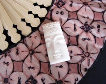 Beautiful Buddha Bone Cabochon 40mm