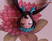 Cunene Deer sleeping doll Pendant