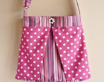 Fuchsia Waterproof  Shoulder Bag / Travel Bag/Cross bady Bag/Waterproof