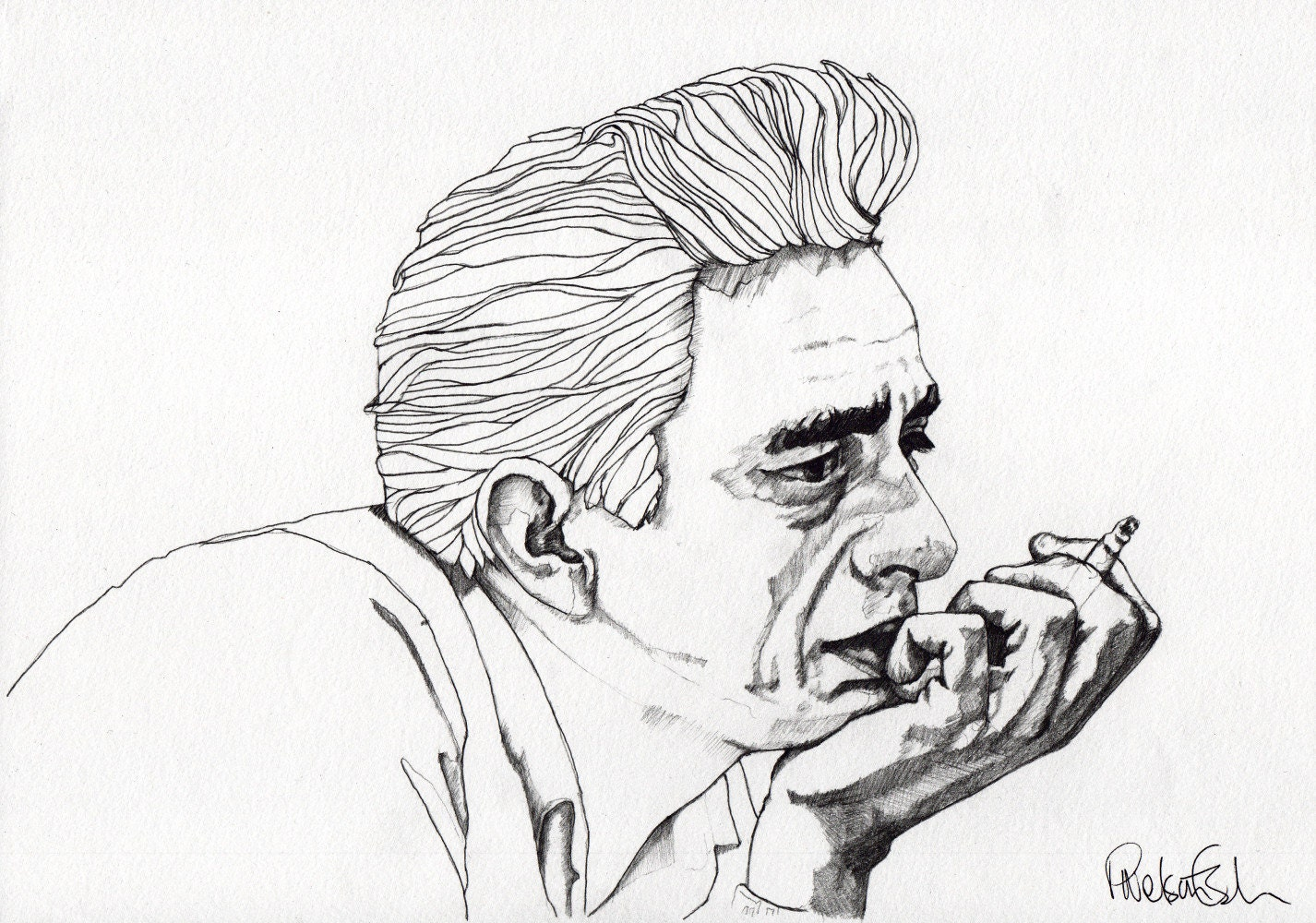 johnny cash outline Johnny cash was known as the man in black despite a decades-long career and multitude of platinum and gold albums the story behind the man in black february 25, 2015 mail_outline.