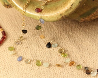 semiprecious stones necklace