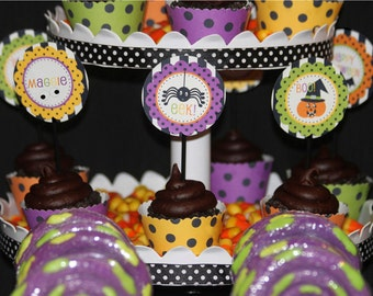 BIRTHDAY Halloween Party Printable Set - Personalized for your child by Amanda's Parties To Go