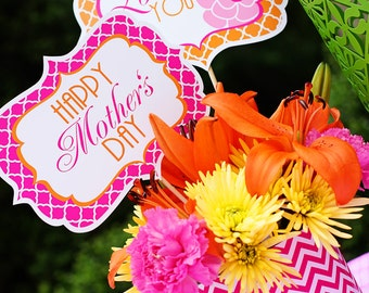 Mother's Day Decorations   Mother's Day Printables   Mother's Day Brunch   Mother's Day Lunch   Mother's Day Gift   Amanda's Parties To Go