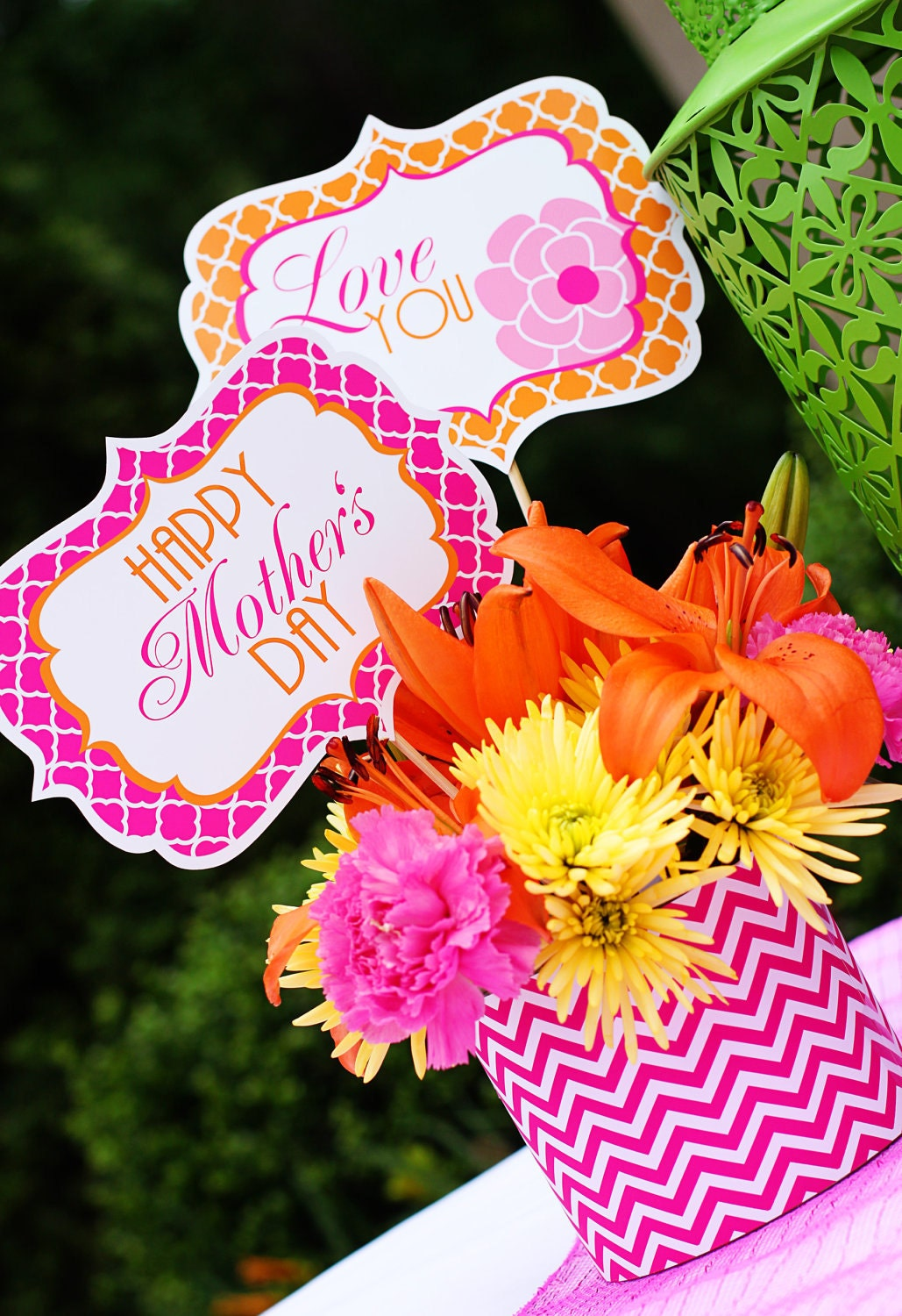 Mother s day decorations printables