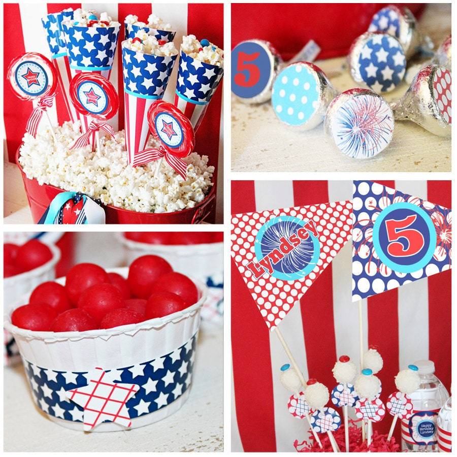 July 4th birthday party decorations july 4th party for 4th of july party decoration