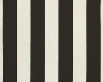 Custom Ironing Board Cover Black and White Canopy Stripe