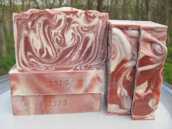 White Magnolia Soap - Homemade Bar Soap - Floral Scent Handmade Soap Cold Process - LAST BAR