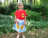 Sale on Dorothy and Toto skirt and top size 4