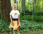 Sale on Halloween skirt & top for girls size 4