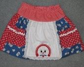 Raggedy Ann skirt for little girls size 3