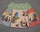 Sale - Summer Fun apron skirt size 2T