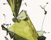 Olive Stems - Fine Art Print