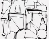 Cement Factory Series - Fine Art Print