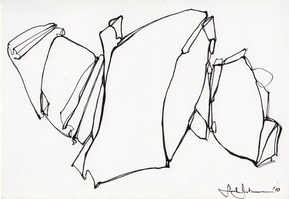 Original Ink Drawing sketch IV
