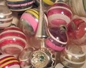 Vintage Mercury Glass Christmas Tree Topper